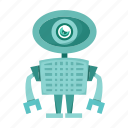 avatar, cartoon, robot, toy icon