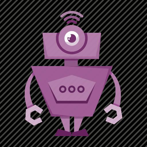 avatar, cartoon, robot icon