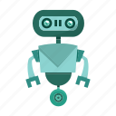 avatar, cartoon, robot, robotic icon