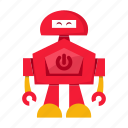 avatar, cartoon, robot icon