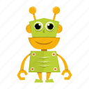 avatar, cartoon, funny, robot, robotic icon