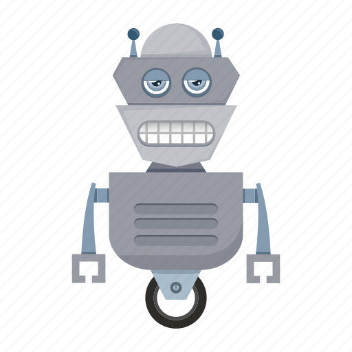 android, avatar, cartoon, funny, robot icon