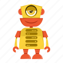 android, cartoon, robot, toy