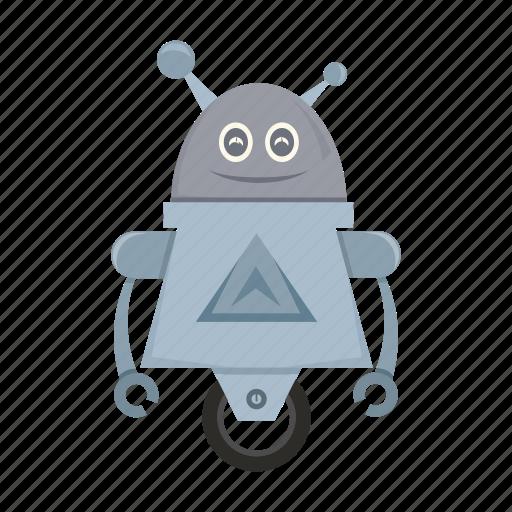 cartoon, machine, robot, toy icon