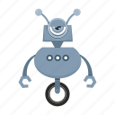 android, cartoon, character, robot