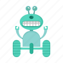 cartoon, character, robot, toy