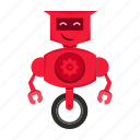 cartoon, robot, robotic, toy icon