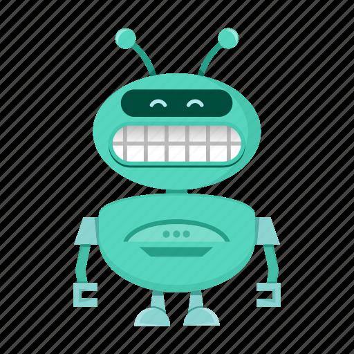cyborg, robot icon