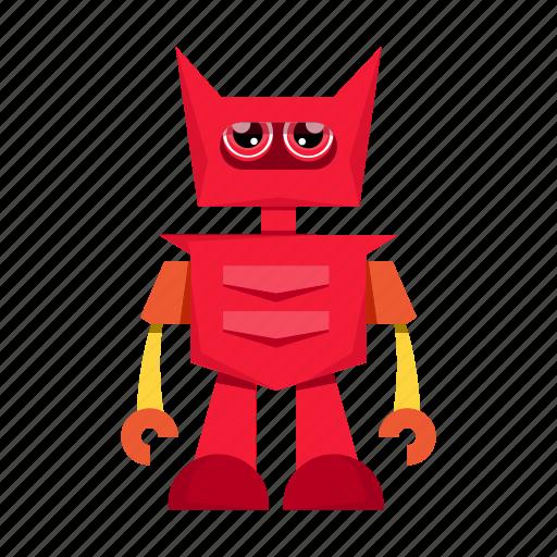 cartoon, character, robot, robotic, toy icon