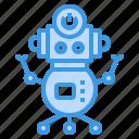 robot, robotics, artificial, intelligence, toy, machine icon