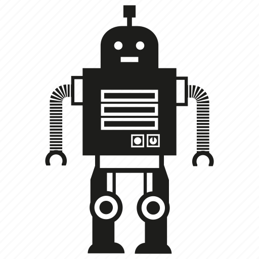 artificial intelligence, auto, robot, toy icon