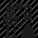 artificial intelligence, human, love, robot