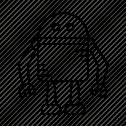 android, automatic, computer, cyborg, machine, robot, robotic icon