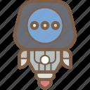 avatars, droid, robot, thinking