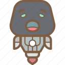 avatars, bot, droid, robot, yawn icon