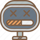 avatars, bot, droid, loading, robot