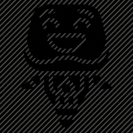 avatars, bot, droid, laughing, robot icon