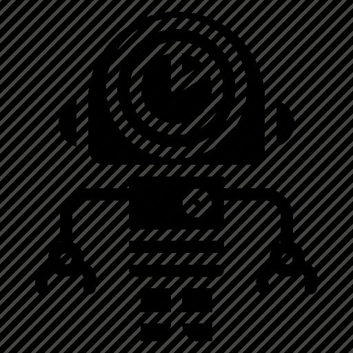 avatars, bot, droid, robot, waiting icon