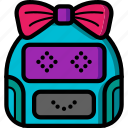 avatars, bot, droid, girl, happy, robot icon