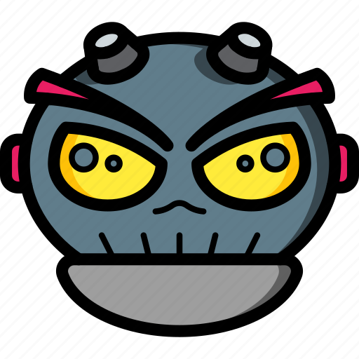 Avatars, bot, droid, punk, robot icon - Download on Iconfinder