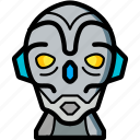 avatars, bot, droid, robot, sentinel icon