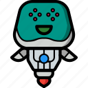 avatars, bot, droid, happy, robot