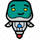 avatars, bot, droid, robot, smug icon