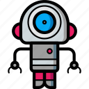 avatars, bot, droid, robot, search