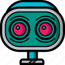 avatars, awake, bot, droid, robot, wide
