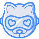 avatars, bot, cat, droid, robot icon