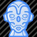 avatars, bot, droid, robot, sentinel icon