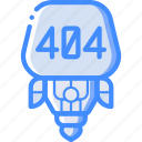 avatars, bot, droid, error, robot icon