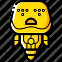 avatars, bot, droid, robot, sad