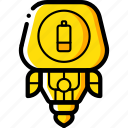 avatars, droid, low, power, robot icon