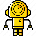 avatars, bot, droid, robot, waiting