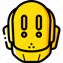alert, avatars, bot, droid, robot