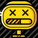 avatars, bot, droid, loading, robot icon