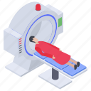 brain scanning, computed tomography, ct scan, mri, mri scan, r-ray icon