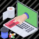 online healthcare, online medical, telehealth, telemedical, telemedicine icon