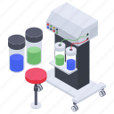 test, hospital lab testing, container, lab experiment, experiment, research, lab equipment icon