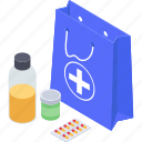 healthcare medicine, medication, medicine, pharmaceutical, pills jar, remedy icon