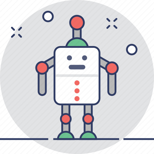 Character, machine, robot, robotic, toy icon - Download on Iconfinder