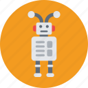 character, droid, machine, robot, robotics icon