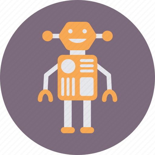 Android, bionic, cyborg, robot, technology icon - Download on Iconfinder