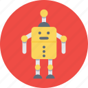 automation, mechanical, robot face, robotic, spy robot icon