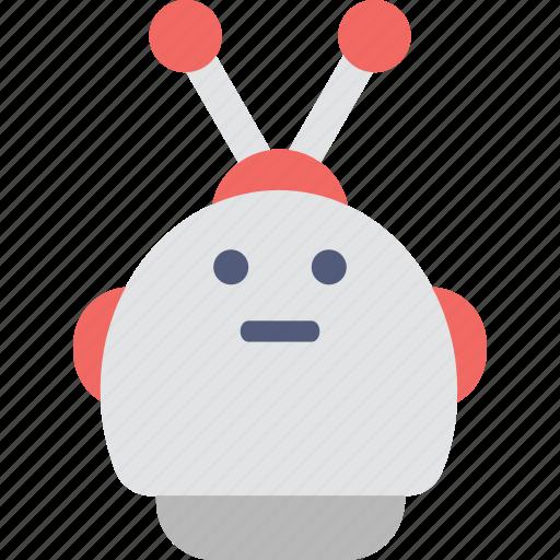 automation, mechanical, robot face, robotic, spy robot icon