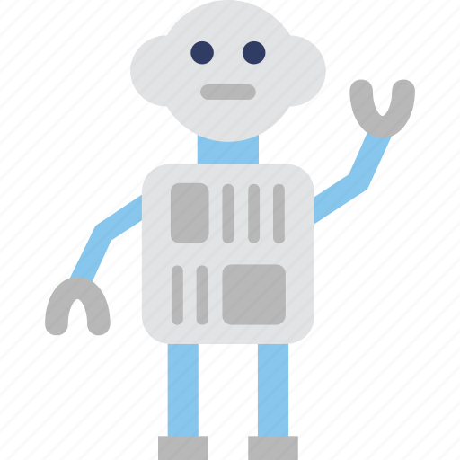 automation, bionic, robotic, science, technology icon