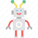 cyborg, machine, robot, robotic, technology icon