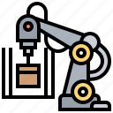 arm, factory, industrial, machinery, robotic