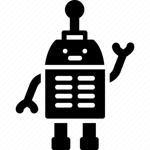 Android, cyborg, metallic, robot man, toy icon - Download on Iconfinder